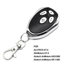 10pcs Gate control Alutech EEN Motoren 4 garagedeuropener OP 4 afstandsbediening zender rolling code 433.92MHz barrière