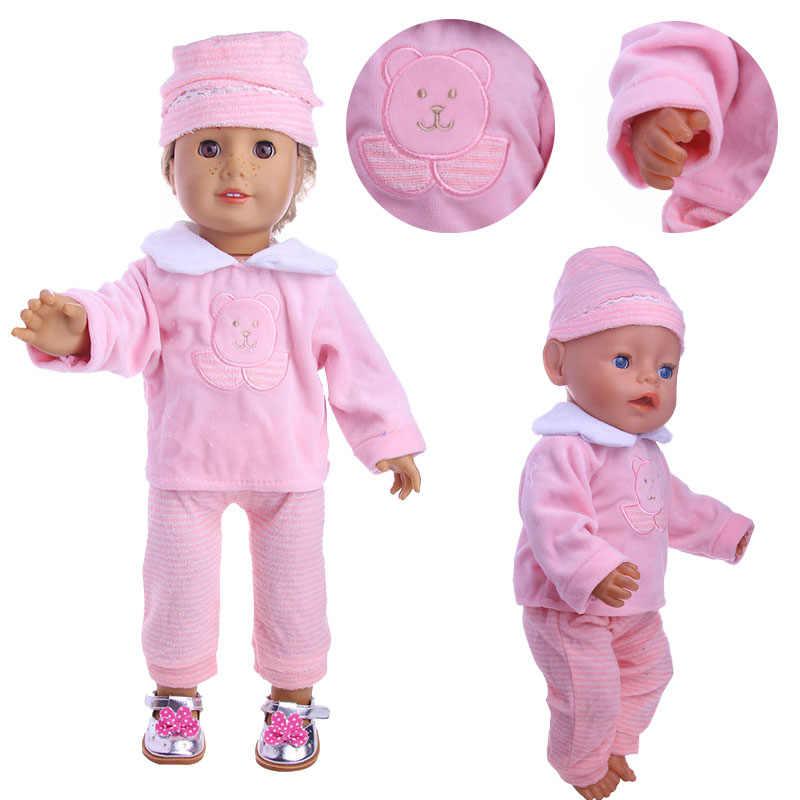 Baby Born Doll Clothes 43cm Jacket 18 Inch Girl Doll Coat Toy Wear Fashion Gift