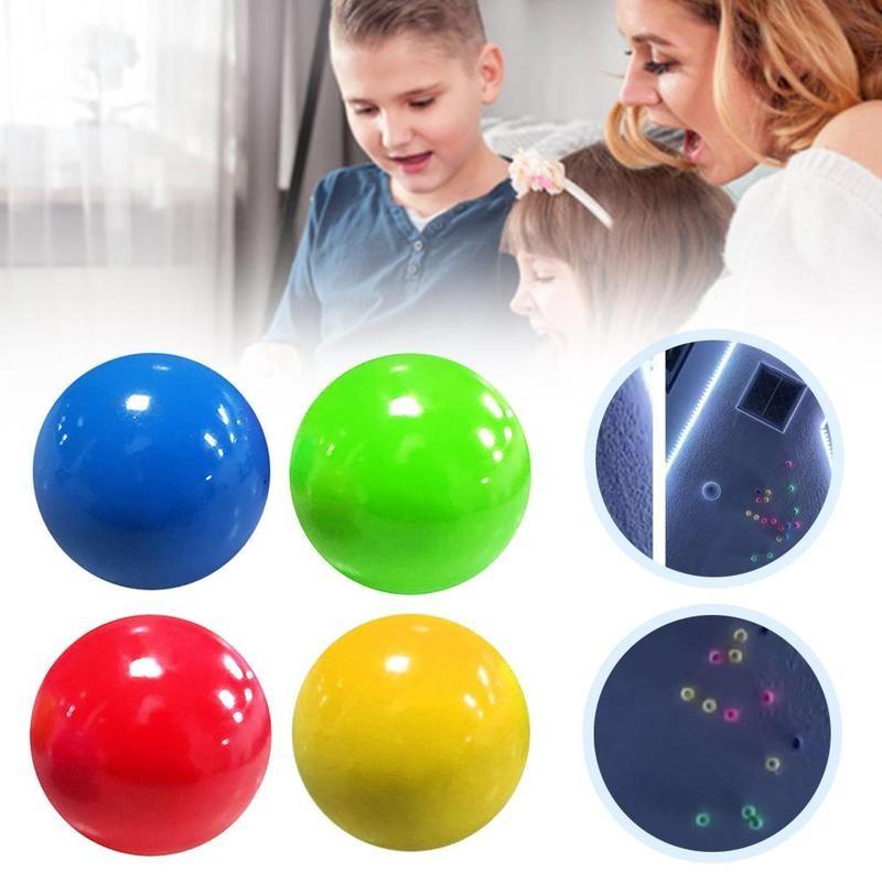 Ljepljive kuglice bacajte na strop dekompresijska kuglica ljepljiva - Zabava na otvorenom i sportovi - Foto 3