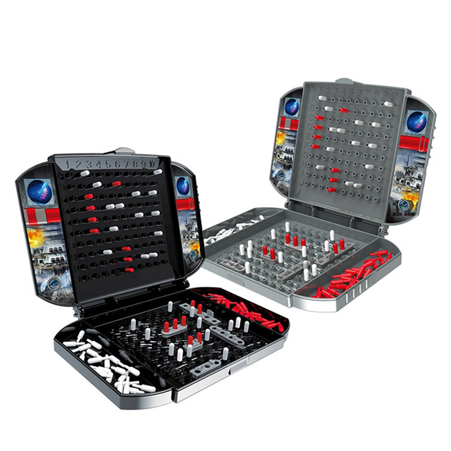Battleship The Classic Naval Combat Strategy Board Games Board Game Classic Puzzle Game Random Color Box Packaging 3