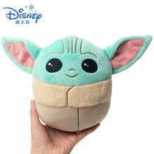 Disney Star Wars 13CM Baby Yoda Plush Toy Cartoon Mandalorian Pillow Stuffed Doll Kawaii Plush Dolls Toys Kid Birthday Girl Gift