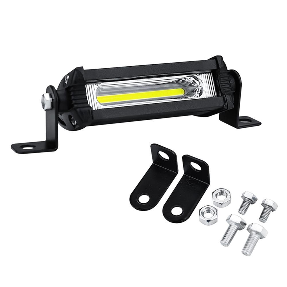 1Pcs Car Work Light Bar 48W 12V Spot Beam Driving Fog Lamp For SUV Off-Road Car Fog Light LED Work Lights Spotlight Bar(China)