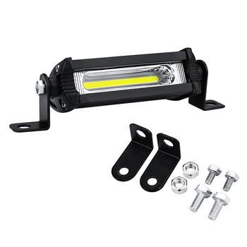 цена на 1Pcs Car Work Light Bar 48W 12V Spot Beam Driving Fog Lamp For SUV Off-Road Car Fog Light LED Work Lights Spotlight Bar