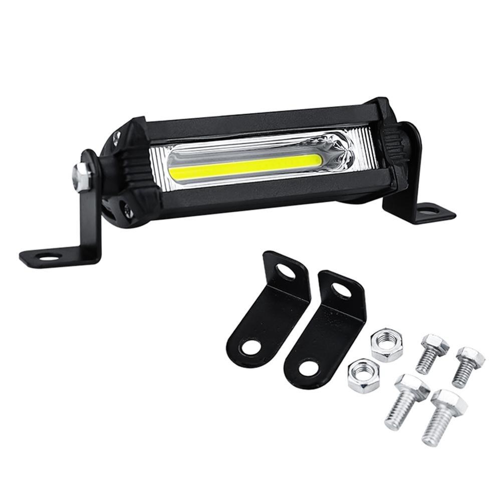 1Pcs Car Work Light Bar 48W 12V Spot Beam Driving Fog Lamp For SUV Off-Road Car Fog Light LED Work Lights Spotlight Bar