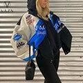 Весна 2021, свободные высококачественные Молодежные куртки с капюшоном и длинным рукавом, повседневные Модные Женские ветрозащитные куртки ...