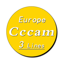 Stable server control panel TV receiver Cccam 3 line supports the latest Cccam in Spain, Portugal and Poland for one year one night in spain