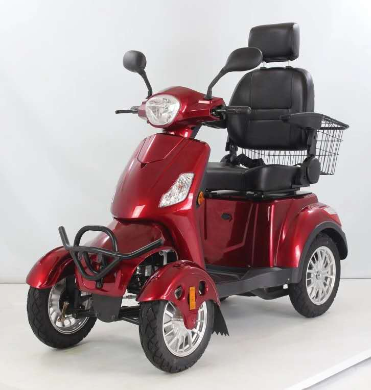 48V 500W 4 wheel electric adult for disabled or handicapped mobility scooter