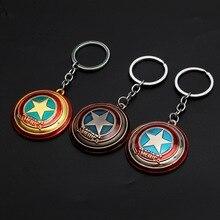 Мстители 3 Америка брелок капитана Marvel Америка Капитан щит фигурный брелок оптом
