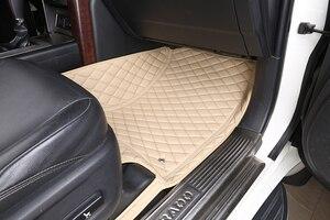 Image 3 - 3D Auto Fußmatten Für Toyota Land Cruiser 100 200 Prado120 150 Wasserdichte Leder Fußmatten Auto styling Innen auto Teppich Matte