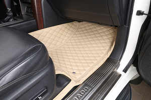 Image 3 - 3D Автомобильные Коврики для Toyota Land Cruiser 100 200 Prado120 150, Водонепроницаемые кожаные коврики, Стайлинг автомобиля, коврик для салона автомобиля