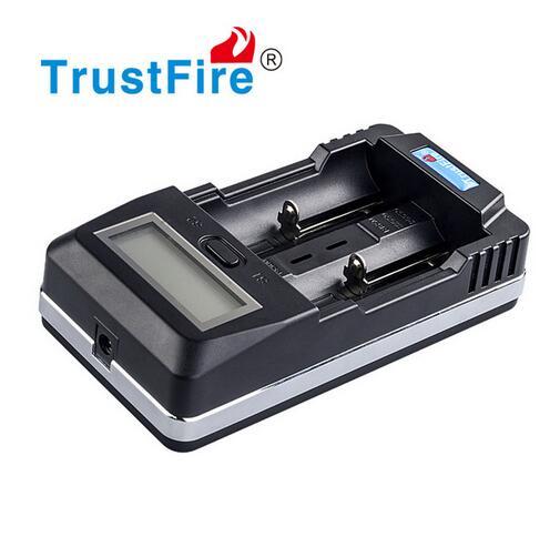 TrustFire TR-011 chargeur de batterie Intelligent Li-ion 2 fentes écran LCD batterie externe avec Port USB pour 18650 14500 26650 Batteries