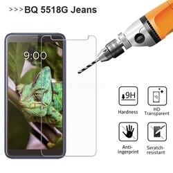 На Алиэкспресс купить стекло для смартфона tempered glass for bqs bq 5518g jeans screen protector glass on the pelicula bq 5518g jeans protective mobile phone film glass