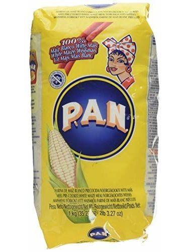 Harina PAN Blanco (White Maize Flour) By Harina P.A.N.
