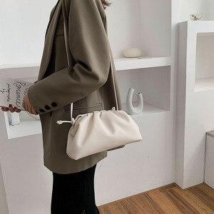 Image 3 - [BXX] بلون بولي Leather حقائب جلدية Crossbody للنساء 2020 سيدة الكتف حقيبة ساعي حقائب اليد الإناث ومحفظة أنيقة fj161
