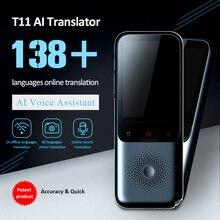 138 + traducteur de langue traducteur intelligent hors ligne en temps réel traducteur vocal intelligent Portable Traduttore hors ligne
