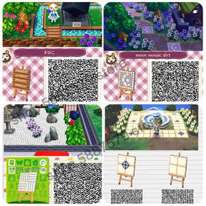 Horizons Animal Crossing Street-Vendors/stairs Planning Island-Wide New QR 11000pieces