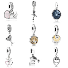 Fashion Colletion 100% 925 Sterling Silver Family Tree Dangle charms Fit Pandora Bracelet Beads For Jewerly Making Gift