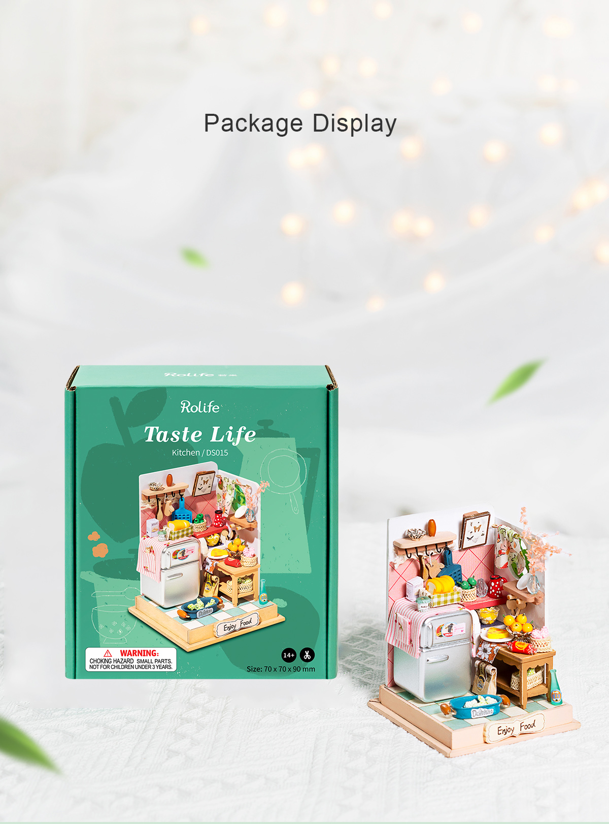 Rolife DIY Miniature Dollhouse - Taste Life(Kitchen) DS015