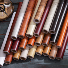 Wood Wallpaper Self Adhesive Vinyl Film Sticker for Home Decor Living Room Furniture Kitchen Contact Paper Waterproof Wall Paper