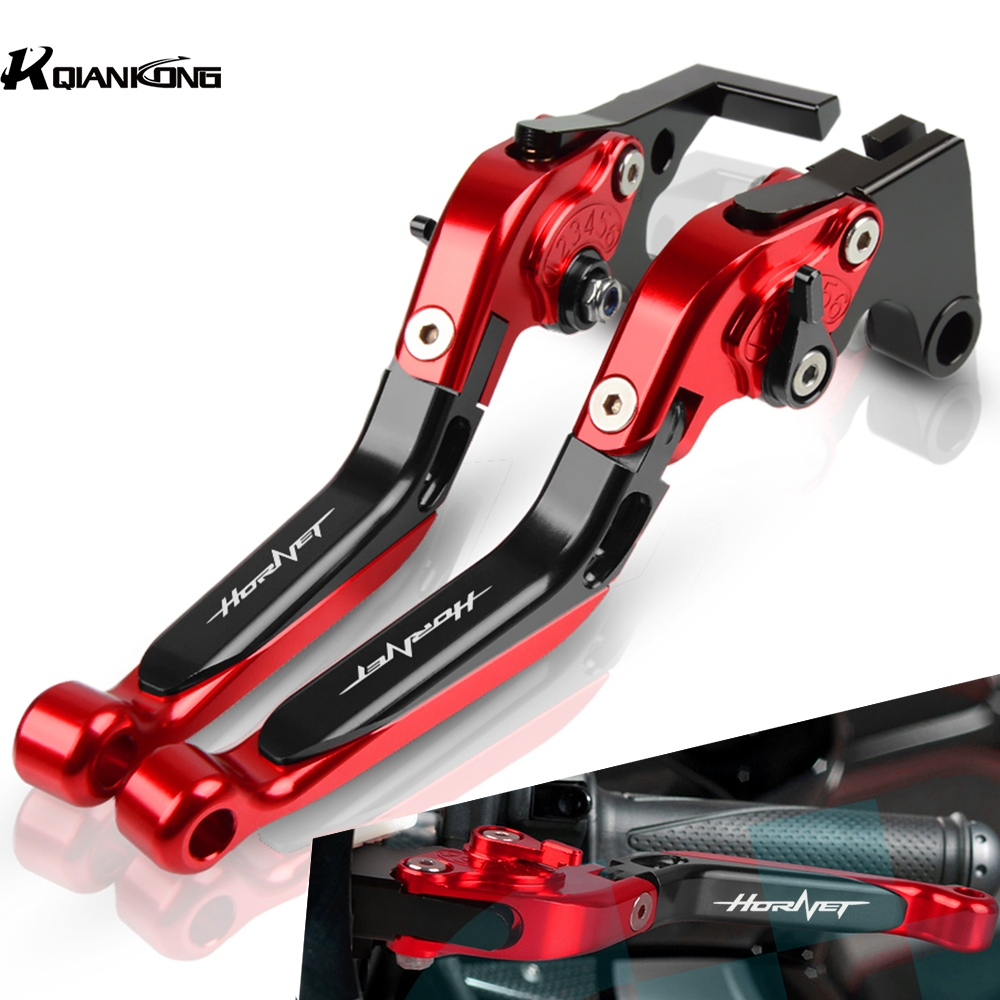 Motorcycle Brake Levers Adjustable Brake Clutch Lever Handlebar For <font><b>Honda</b></font> CB599 CB600F <font><b>HORNET</b></font> <font><b>600</b></font> 1998-2006 1999 2000 <font><b>2001</b></font> 2002 image