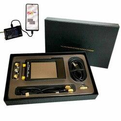 Nanovna-h 50KHz ~ 1,5 GHz VNA 70DB 2,8 pulgadas LCD HF VHF UHF UV Vector red antena del analizador batería antena analizador