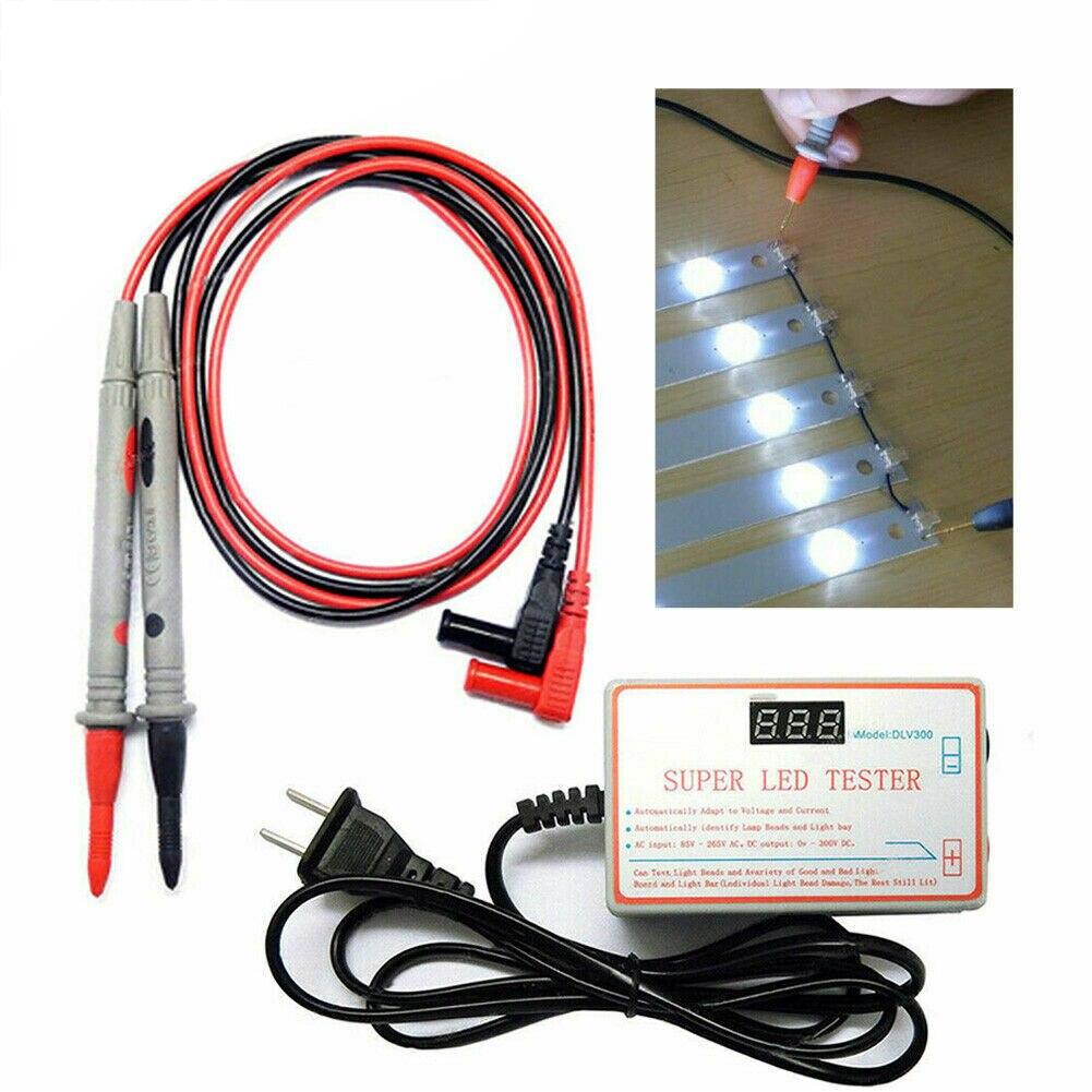 LED Tester Lamp Light 0-300V Backlight Tester Repair Instruments TV Beads Backlight Tool For Strip Multipurpose Laptop