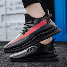 Nieuwe hot Winter Casual Schoenen Mannen waterdichte bont warm Houden Sneakers Man mode air boost originale Volwassen vest zapatillas hombre(China)