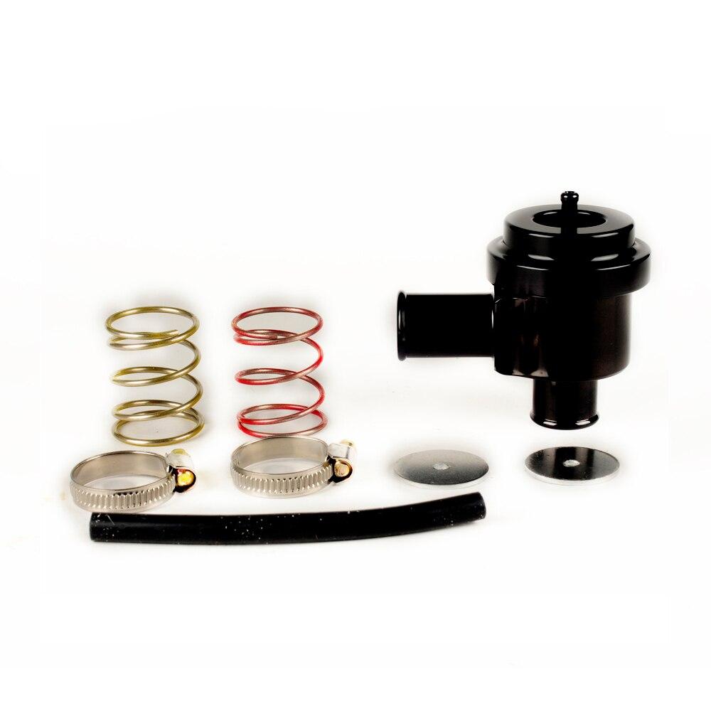 Автоматический рециркуляционный дивертер 20 в 1,8 т 25 мм выдувный клапан турбо bov дамп клапан для VW GOLF BORA PASSAT GTI BOV-007-BK