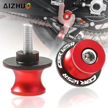 Motorcycle 8MM CNC Aluminum Accessories Swingarm Spools Stand Screws Slider FOR HONDA CBR125R CBR 125 R CBR125 R 2004-2020 2019 image