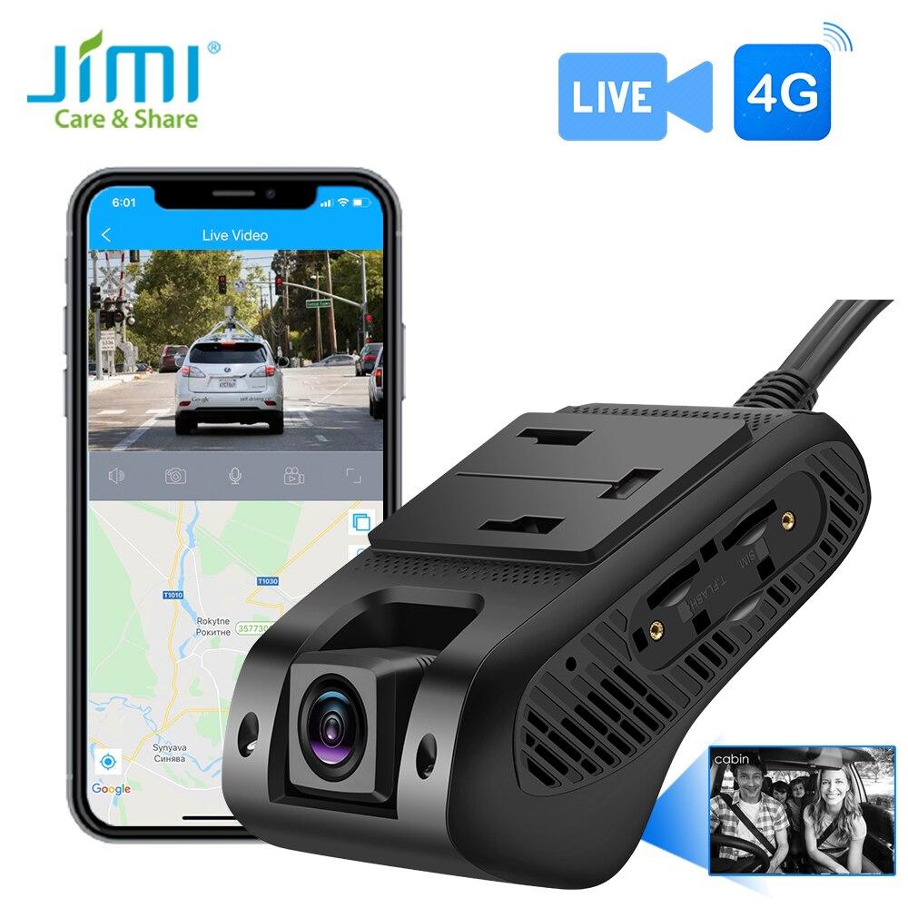 Jimi JC400P-A 4G Мобильный DVR Камера с двойной Камера s видео в режиме реального времени GPS отслеживания Wi-Fi удаленный мониторинг тире экшн-камера DVR ...