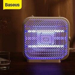 BASEUS лампа-убийца комаров USB СВЕТОДИОДНЫЙ УФ-светильник электрическая лампа-убийца насекомых жук Zapper молчание без излучения для домашнего н...
