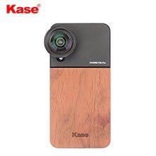 Kase Mobile Phone Lens Wooden Case Holder Protector for iPho