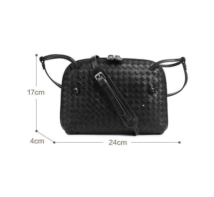 Leather Women's Shoulder Bag Luxury Brand Fashion Woven Bag Simple Shell Bag High Quality Messenger Bag 100% Sheepskin 2020 New