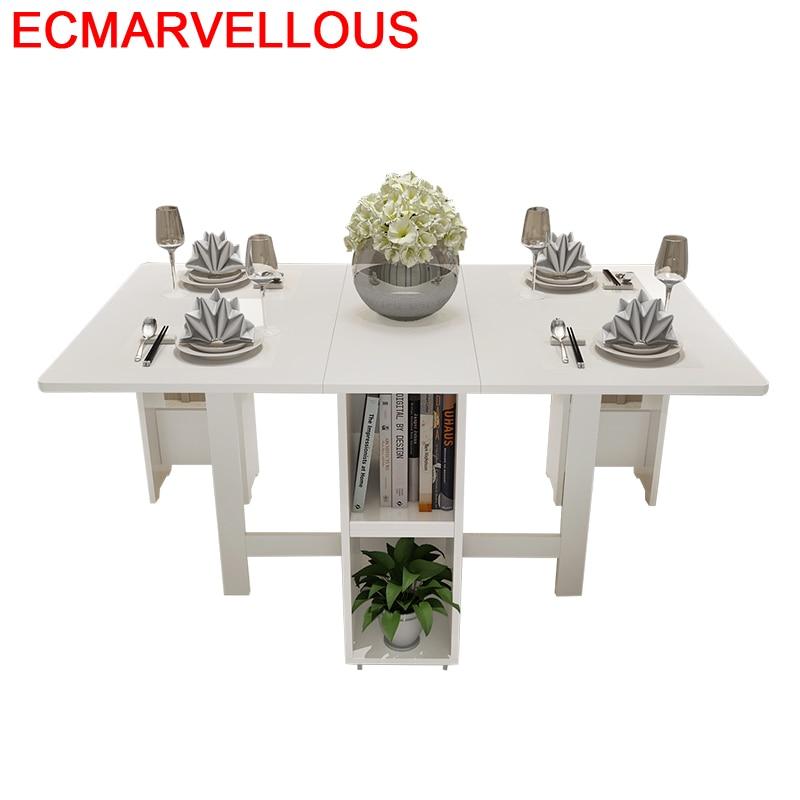 Tavolo Piknik Masa Sandalye Eet Tafel Kitchen Esstisch Retro Wood Folding Comedor Bureau Mesa De Jantar Desk Dining Table