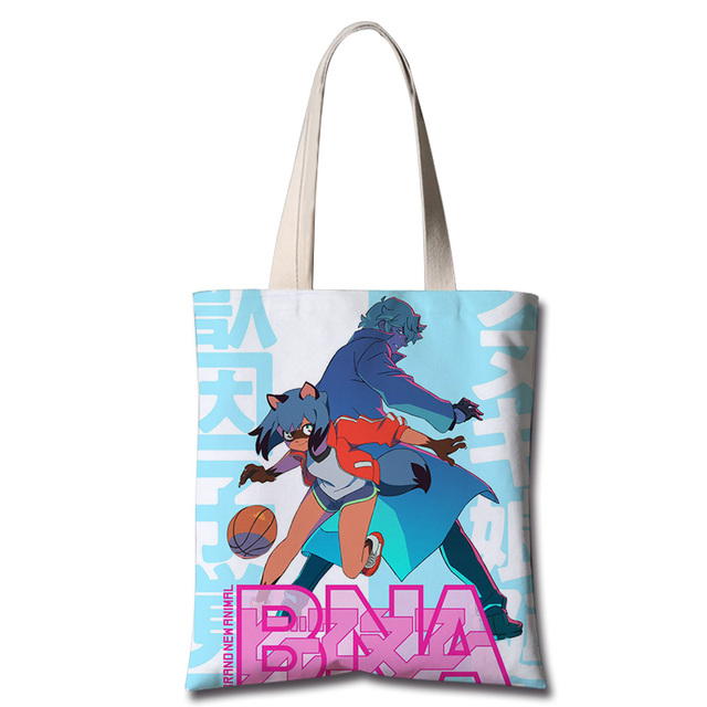 Anime chaud tout neuf ANIMAL Kagemori Michiru Cosplay sacs de messager mode toile sac à bandoulière sac à provisions étudiant sac à main