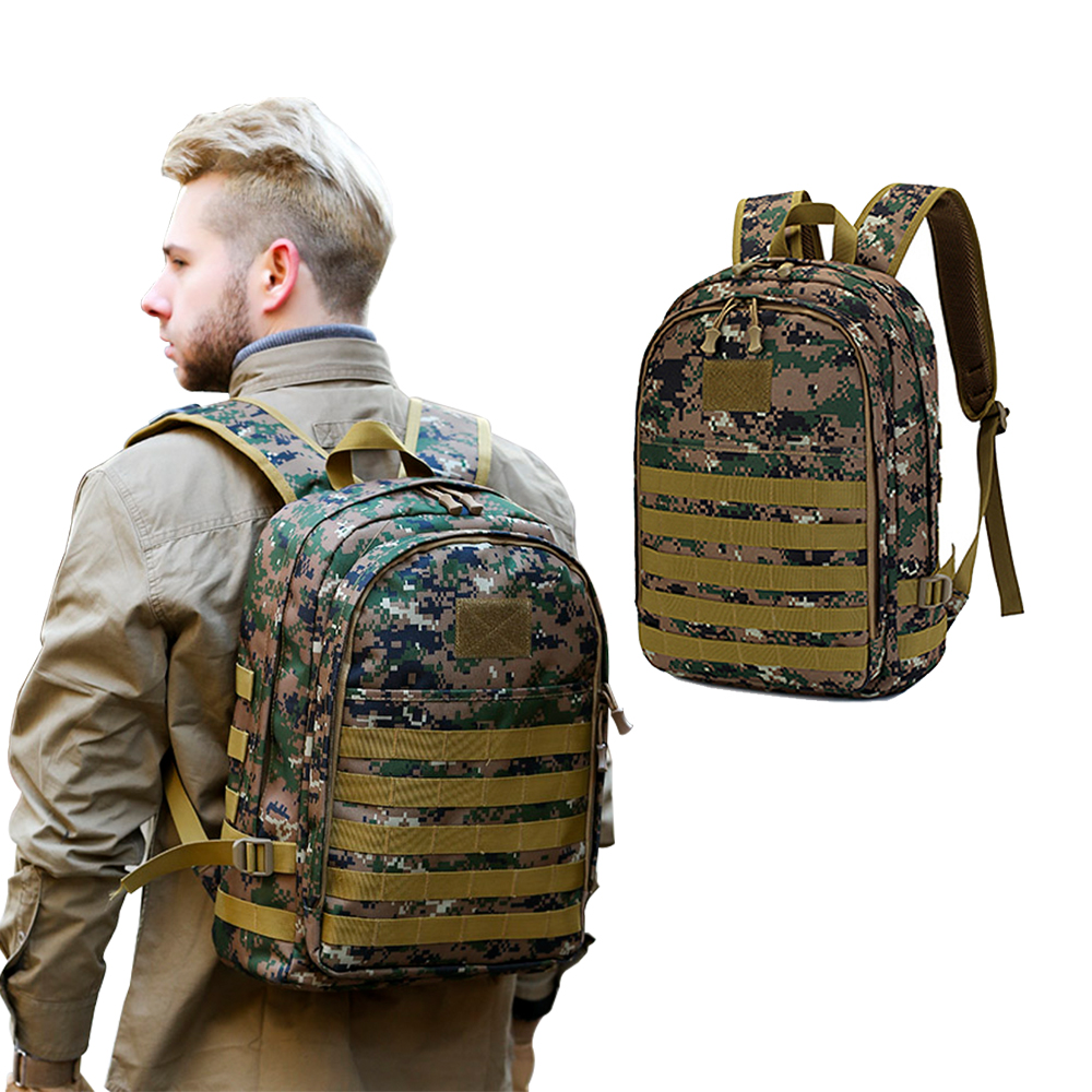 Outdoor Tactical USB Charger Backpacks Anti-theft Travel Backpack Waterproof Backpack  Military Sports Travel Bag For Men Women