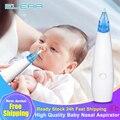 Детский Назальный аспиратор, Электрический Безопасный гигиенический очиститель носа, силиконовая присоска для носа, для новорожденных, мл...