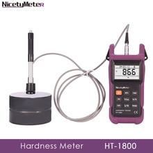 цены Nicetymeter HT-1800 Portable Rebound Leeb Hardness Tester diamond selector gold tester hardness tester portatiles HT1800