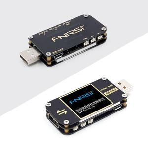Image 5 - Fnb38 medidor de corrente e tensão tester usb qc4 + pd3.0 2.0 pps rápido protocolo de carregamento capacidade teste usb tester