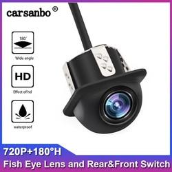 720P HD IP68 wodoodporna 180H szerokokątny noktowizor tylna kamera samochodowa do uniwersalnego BMW Audi jakość widok z boku kamery Kamery pojazdowe    -