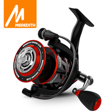 MEREDITH ZA Freshwater Fishing Reel Carbon Fiber Drag Spinning Reel Max Drag 11KG Reel Fishing Accessories 2000 4000 Series