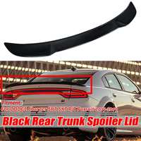 Glossy Black Car Rear Trunk Boot Lip Spoiler Wing Lid Big For DODGE Charger SRT SXT R/T Pursuit 2015 2019 Car Spoiler Wing Big