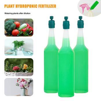 3Pcs Nutrient Solution For Hydroponic Flower Fertilizer Fleshy Plants Universal Nutrient Solution For Hydroponic Plants цена 2017
