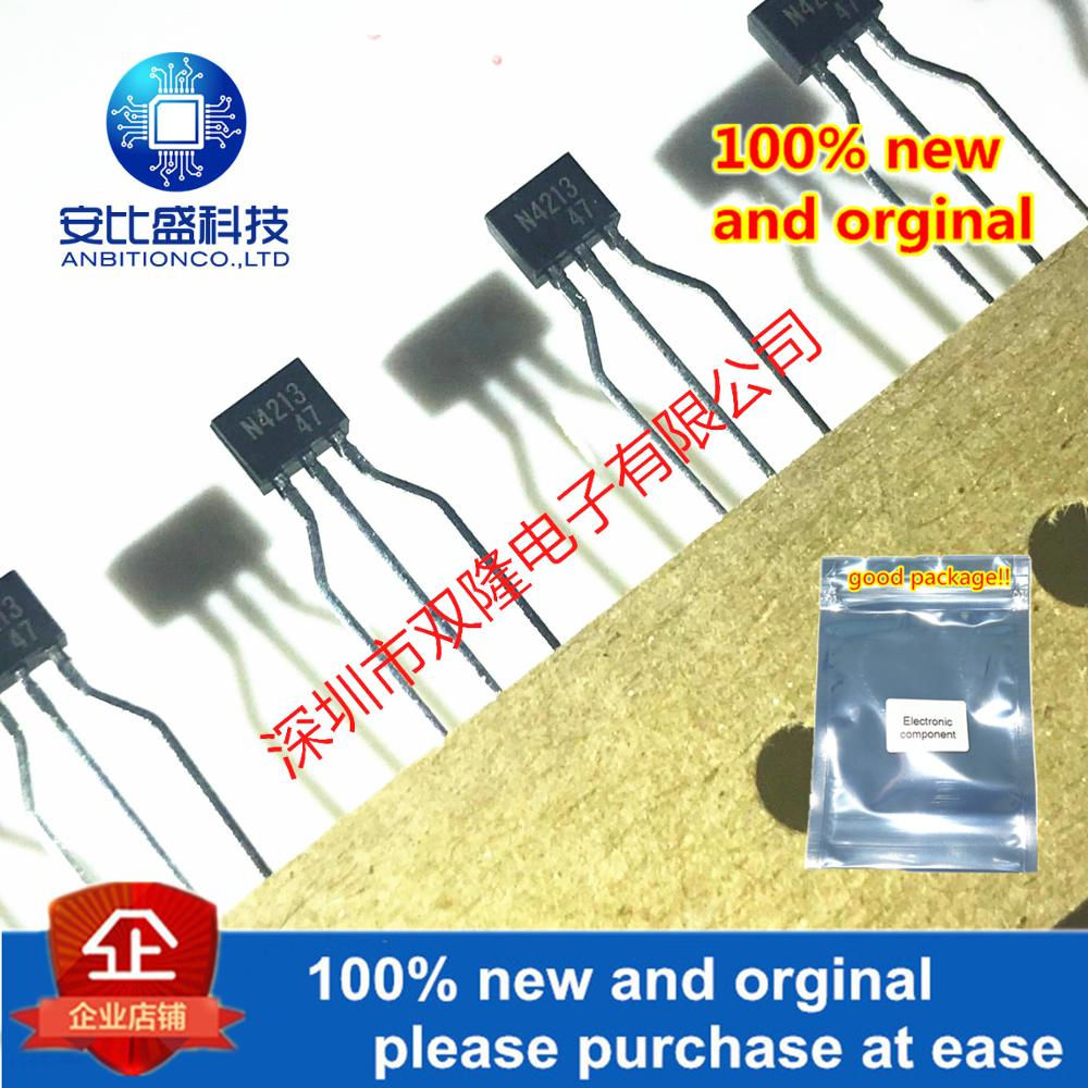 10pcs 100% New And Orginal UN4213(TA) N4213 TO-92S In Stock