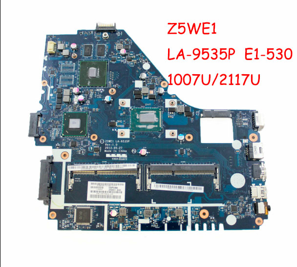 Z5WE1 <font><b>LA</b></font>-<font><b>9535P</b></font> <font><b>motherboard</b></font> fit for acer aspire E1-570 E1-570G <font><b>motherboard</b></font> Tested working image