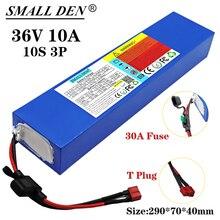 36V 10Ah 18650 ליתיום סוללה, בשימוש עבור קטנועים, אופניים חשמליים, מובנה 30A BMS ונתיך מכשיר 250W 600W