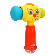Детская игровая лампа молоток игрушки электрические игрушки старше 12 лет