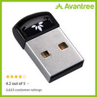 Avantree DG40S USB Bluetooth 4,0 Adapter Dongle für PC Laptop Computer Desktop Stereo Musik, Skype Anruf, Tastatur, maus