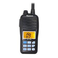 Waterproofrecent RS 36M rádio marinho vhf 156.000 161.450mhz ip67 à prova dip67 água handheld rádio do flutuador stadion 5w walkie talkie