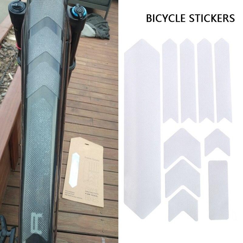 3D autocollants de vélo cadre résistant aux rayures protecteur résistant à l'usure résistant à l'usure Anti-UV VTT accessoires vtt